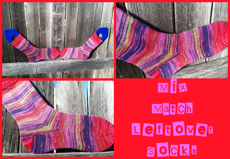 Mix Match Leftover Socks