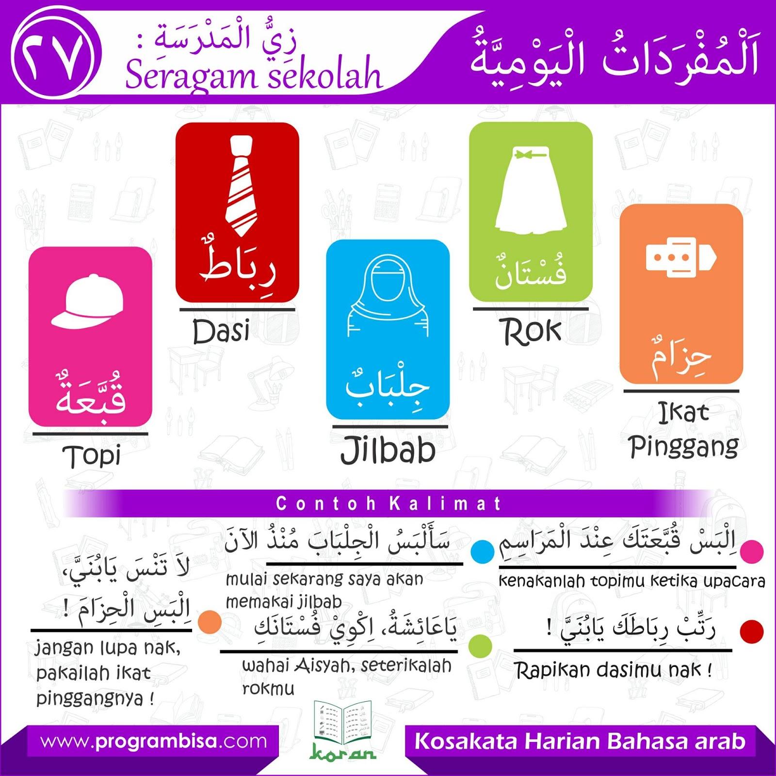 Kosakata Bahasa Arab Seputar Alat Sekolah Download Kajian Islam Ilmiyah Pangandaran