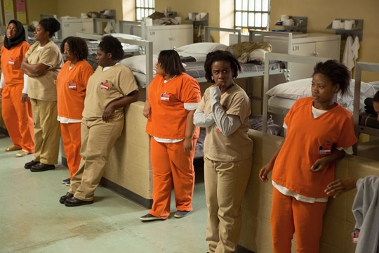 The cast of OITNB season 4