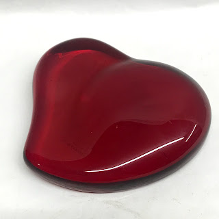 Tiffany & Co. Glass Heart