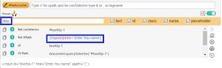 Build XPath using preferred attribute