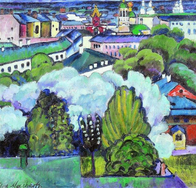 Ilya Mashkov - Urban Landscape