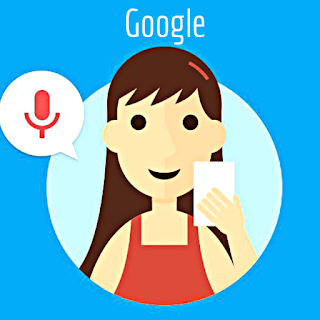 What is a name of that girl who is speaking in google speaker?