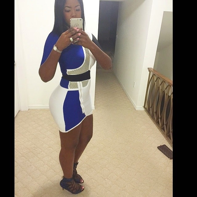Juju  Looking Stunning In Short Dress