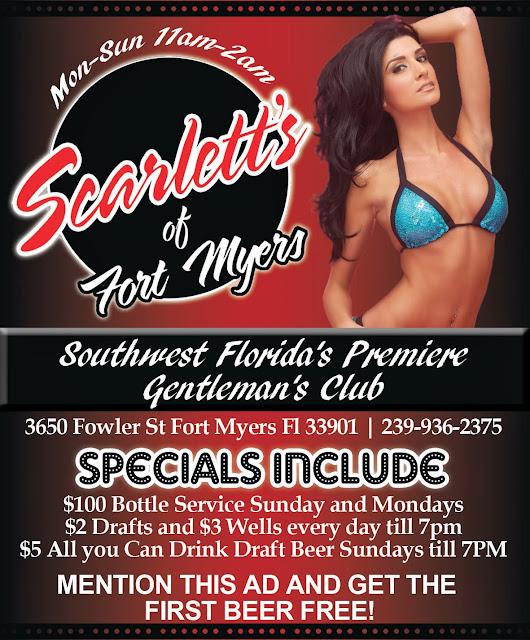 Scarletts Cabaret QP Ad