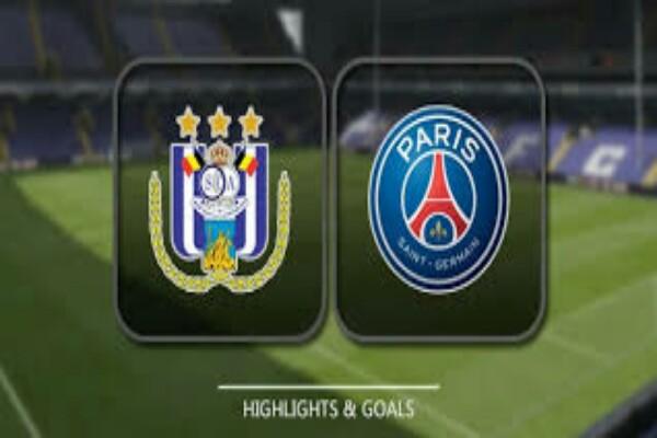 Anderlecht vs PSG Champions league match highlight