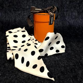 Hermès Polka Dot Twilly