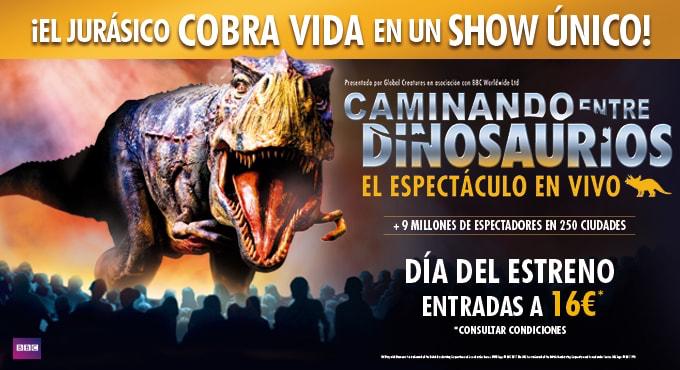 Espectáculos de dinosaurios en Madrid