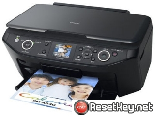 Reset Epson PM-A840 printer Waste Ink Pads Counter