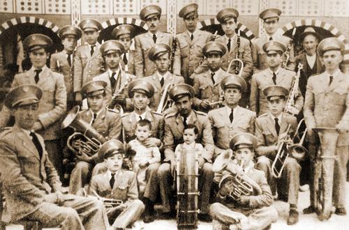 1941 - Banda de Música. Campillo de Arenas