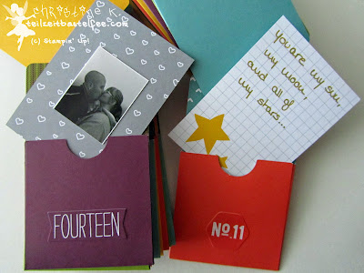 stampin up, adventskalender, advent calendar, simply created, gratitude for days, wunderbare tage, project life, love story, hello december
