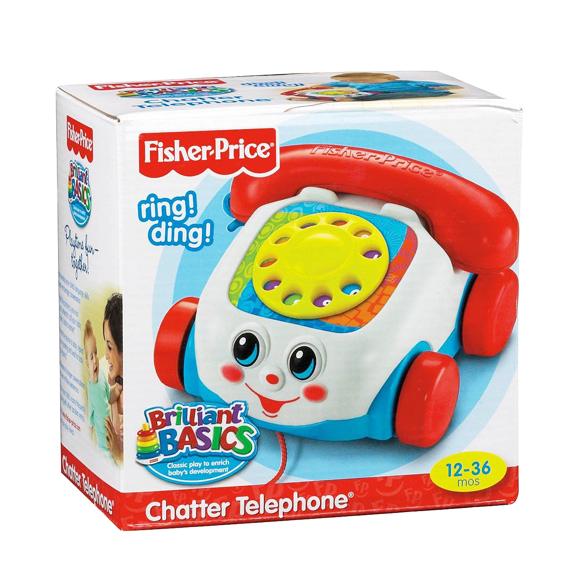 Đồ chơi điện thoại hình xe kéo Fisher Price 77816