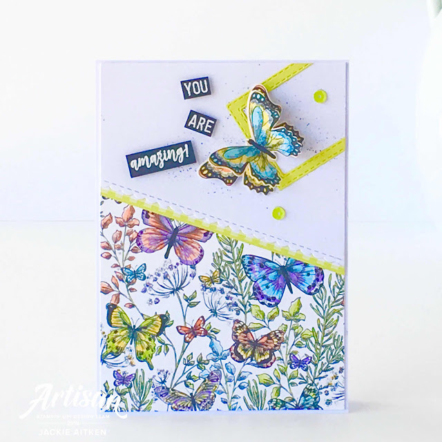 Gingham Gala Suite, Sale-a-Bration 2019, Stampin' Up!, Butterfly Duet Punch, Botanical Butterfly DSP, Butterfly Gala, Rectangle Stitched Framelits, jaxxcraftycreations