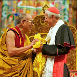 His Eminence Donald Cardinal Wuerl, Archbishop of Washington and His Holiness the Dalai Lama - July 14, 2011