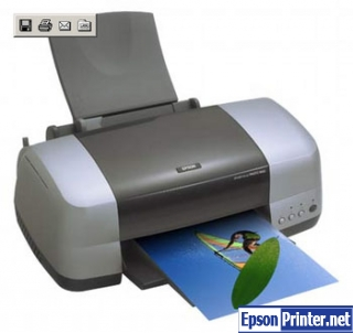 Reset Epson 900 printing device by tool