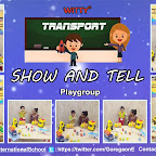 Show and Tell (Transport) By Playgroup Section, ( 2018-19 ), Witty World, Goregaon East
