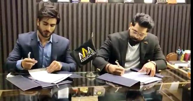 Imran Abbas becomes Brand ambassador of a Famous Business Group AAA