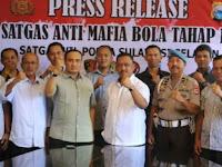 Berantas Mafia Bola, Polda Sulawesi Selatan Bentuk Satuan Tugas Anti Mafia Bola