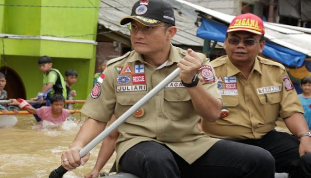 Raker dengan DPR, Mensos: Jumlah Pengungsi Banjir di Jakarta Paling Sedikit