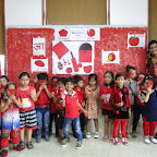 RED COLOUR DAY  JR. KG (02, AUG'2016) WITTY WORLD BHILWARA