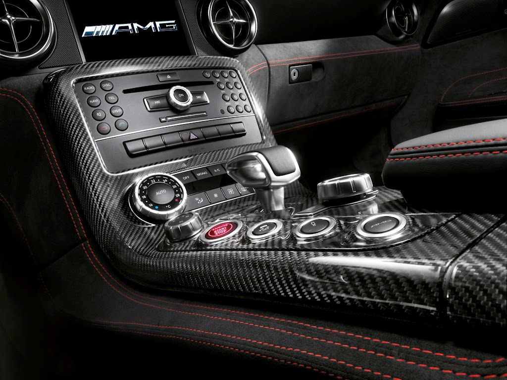 2014 Mercedes-Benz SLS AMG Black Series Interior 2