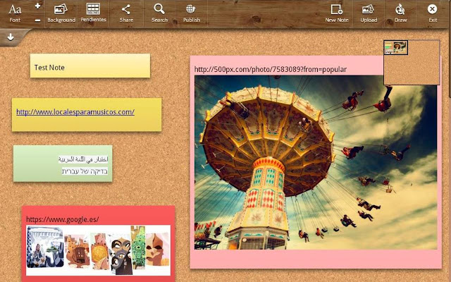 Image result for note board web extension
