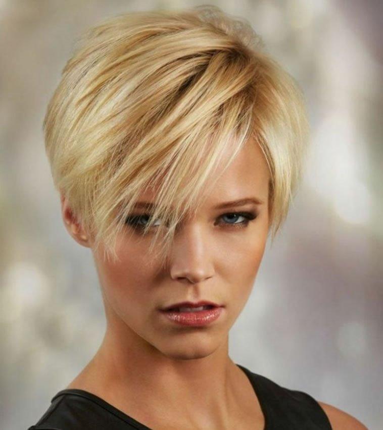 26 Easy short hairstyles : Pixie, bob, undercut asymmetrical haircuts - Fashionre