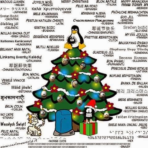 Buon Natale, Merry Christmas, Feliz Navidad, Joyeux Noel, Zalig Kerstfeest, Frohliche Weihnachten, Milad Mubarak, Sretan Bozic,