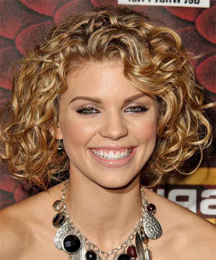 Short Haircuts For Round Faces And Thick Wavy Hair Image Collections