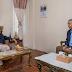 Prime Minister Oli reached Budhanilkantha to meet Deuba
