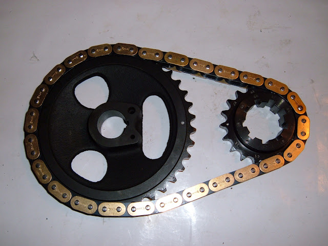 364-401-425 true roller timing chain set. Highly recommended for stock or performance  engines. 185.00