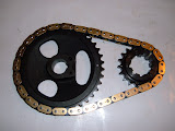 364-401-425 true roller timing chain set. Highly recommended for stock or performance  engines. 185.00 ... We sell a modified version of this roller timing set for the 264-322 for 225.00.