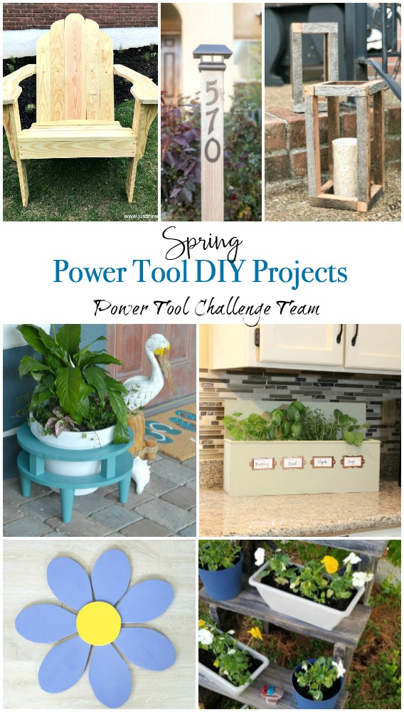 Spring Power Tool Projects