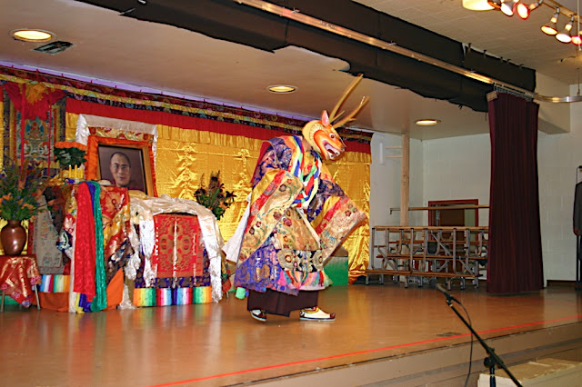 Deer Dance by Sakya Monastery