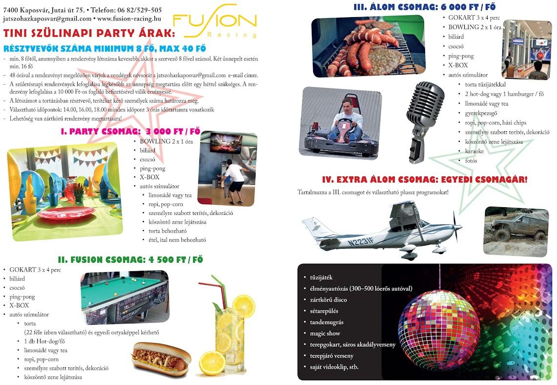 Tini születésnapi party 2015