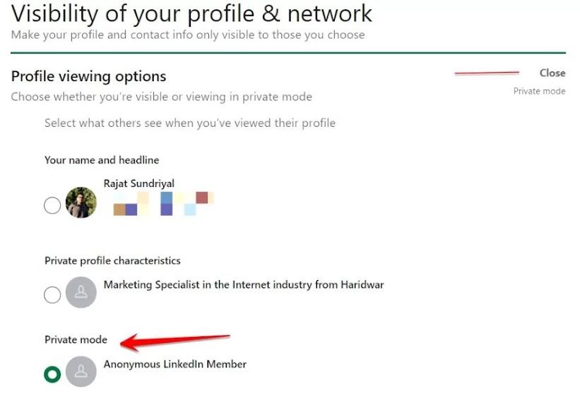 Anonymous LinkedIn Member