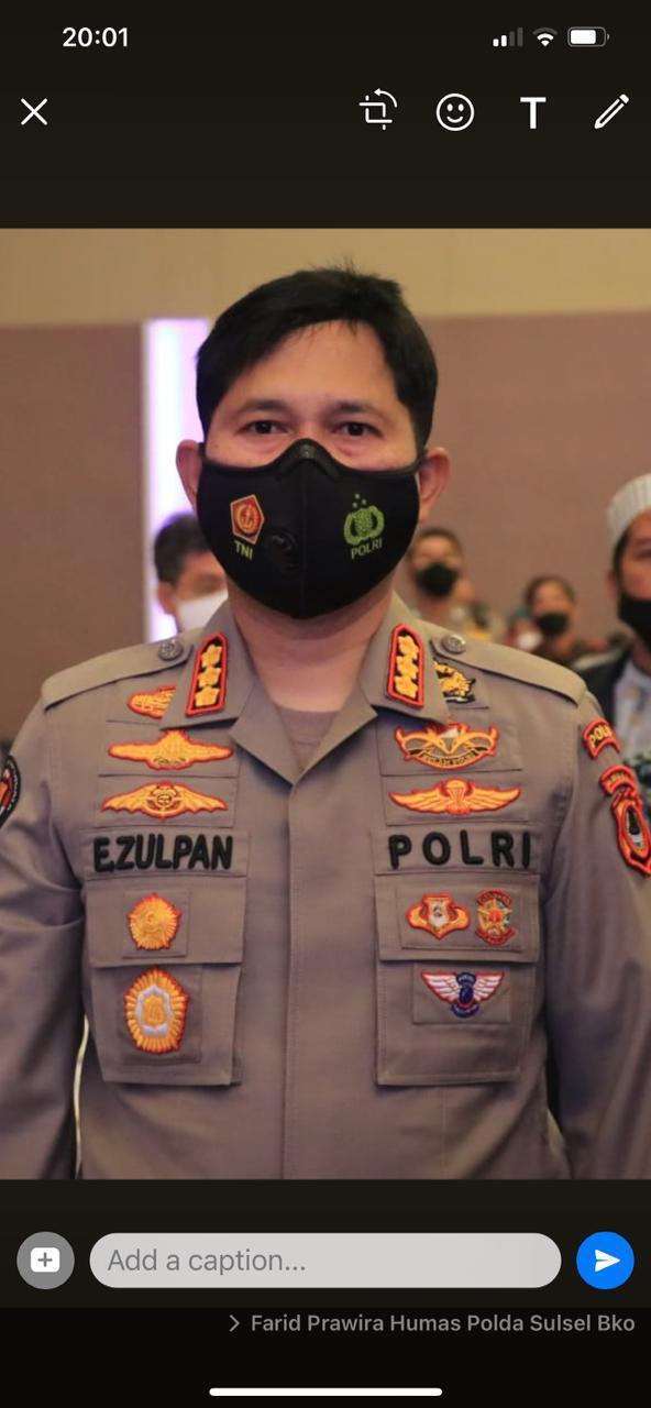 Plt Gubernur Sulsel Sampaikan Belasungkawa atas Meninggalnya Mertua Kabid Humas Polda Sulsel