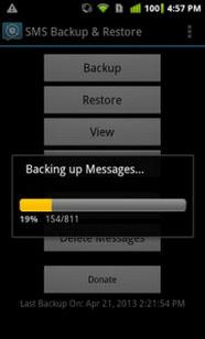 Backup SMS 3
