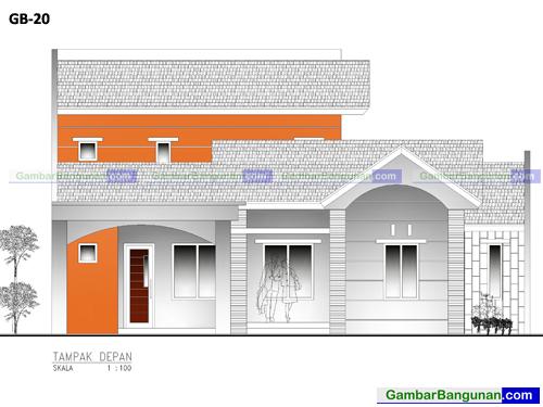 desain renovasi rumah 2 lantai