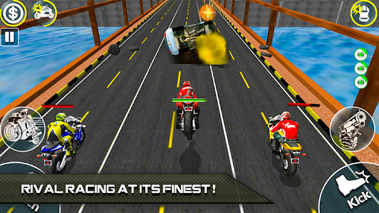 Bike Attack Race 2 - Shooting apk screenshot 4