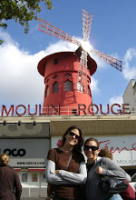 Photo: Teresa and Katie at the Moulin Rouge
