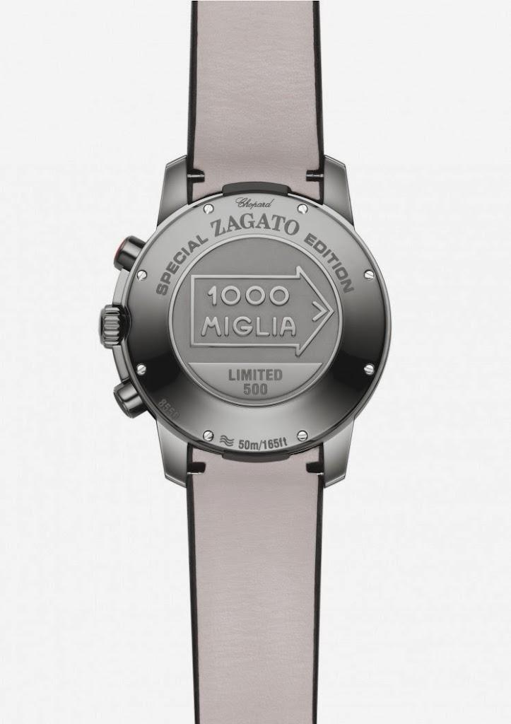 Chopard Mille Miglia Zagato Chronograph DLC Stainless Steel 2
