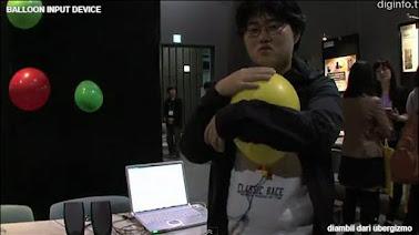 Balloon Input Device