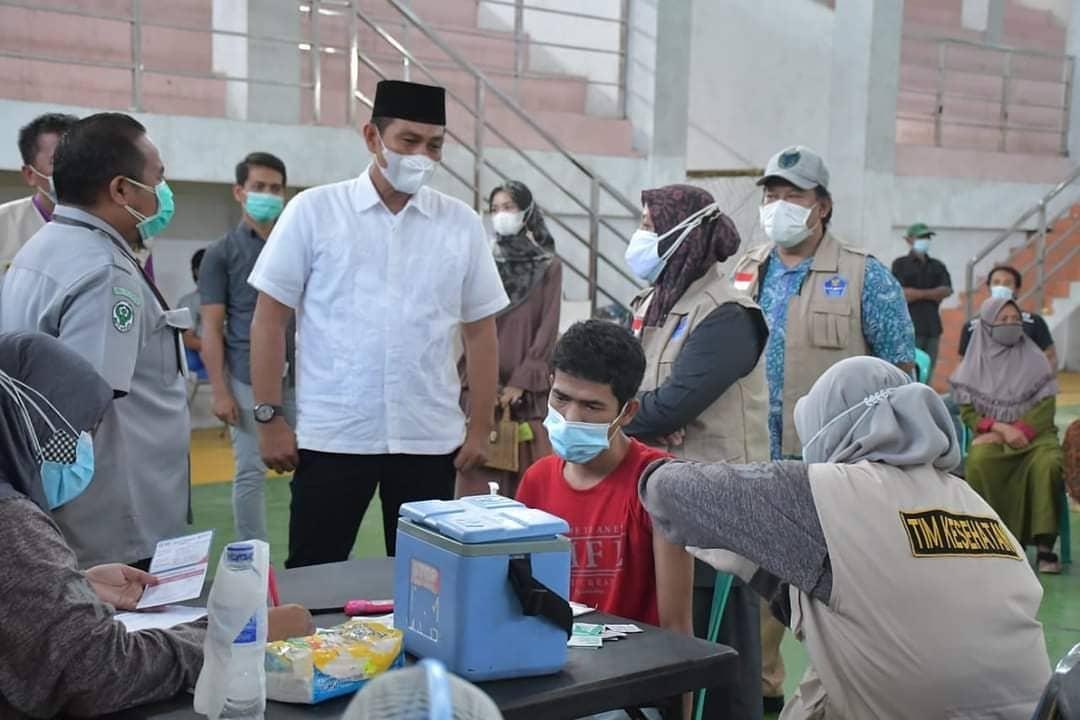 Kejar Target 110 Ribu Jiwa, Fadhil Minta Tambahan Dosis Vaksin