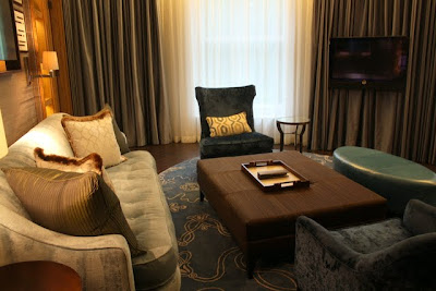 Suite at the Corinthia Hotel in London England