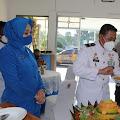 Yonmarhanlan III Jakarta, bersama Polsek Kelapa Gading Rayakan HUT TNI AL.