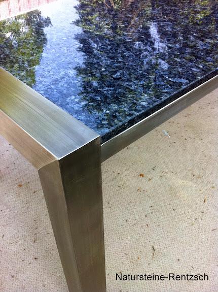 Gartentisch outdoor tisch esstisch k chentisch naturstein for Marmor kuchentisch