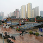 Embarcadère sur l'Oujiang pour l'île Jiangxin