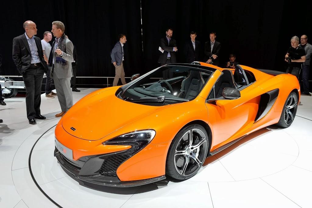 McLaren 650S Spider Geneva Motor Show 33