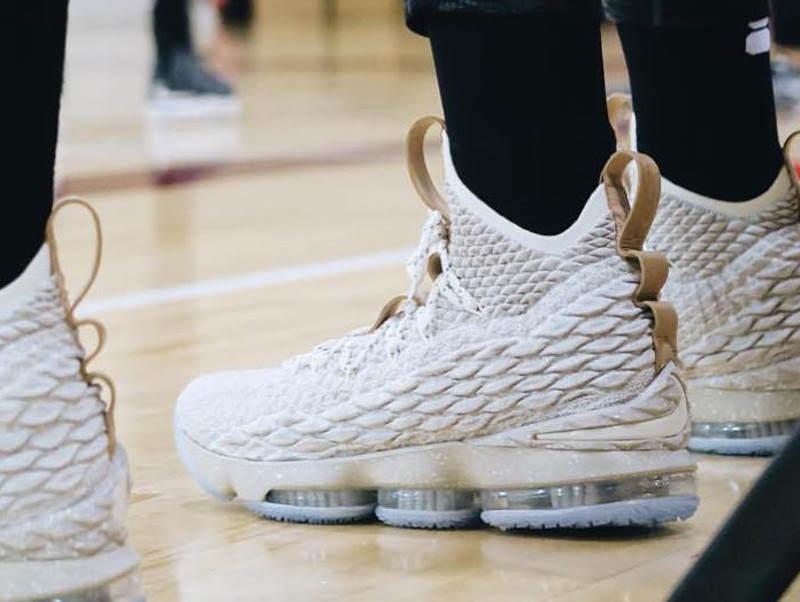 0ebc825ec32972 ... Upcoming Nike LeBron 15 Ghost Release Information ...